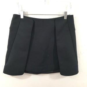Zara Structured Panel skirt SZ L Large high rise